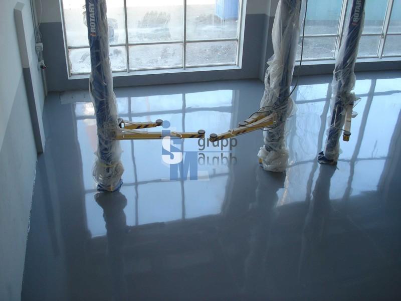 Полиуретановые наливные полы цена в новосибирске гидроизоляция бассейна firestone