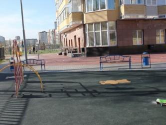 Для детских и спортивных площадок c сыпучим основанием