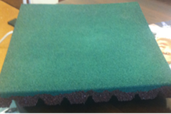 Плитка резиновая 500х500х40мм