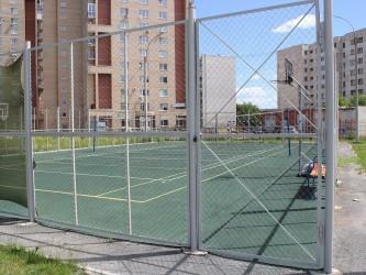 Для спортивных площадок с бетонным основание