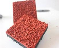 Бесшовное синтетическое покрытие 13 мм, верхний слой которого обработан вручную